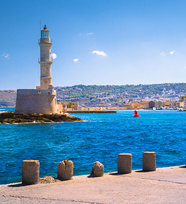 Chania Location
