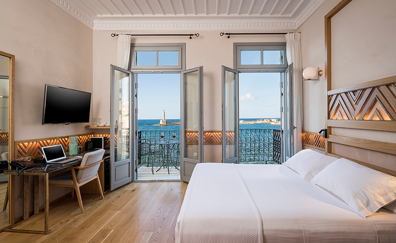 Deluxe Double Sea View Room with Balcony